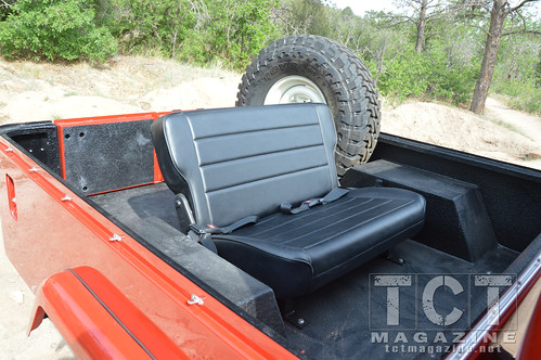 FJ-45 rear seat| TCT Magazine January 2014