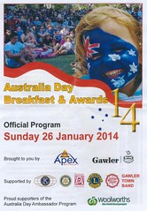 Australia Day Breakfast Gawler Apex Park 2014 001
