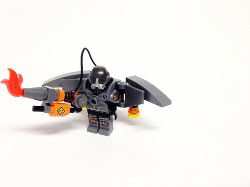 Lego Batman Arkham Origins Firefly Lego batman arkham originsFirefly Batman Lego