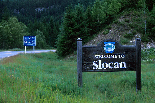 Slocan, Slocan Lake, Slocan Valley, Kootenay Rockies, British Columbia, Canada
