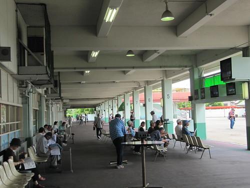 かつての姫路競馬場1階