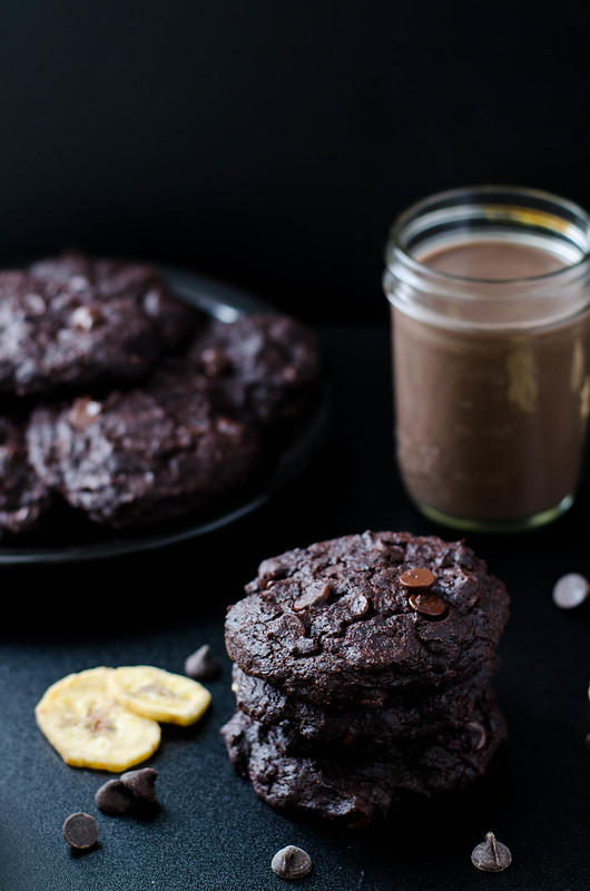 Double Chocolate Banana Cookies (Gluten Free)
