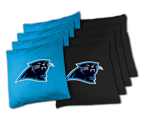 Carolina Panthers Cornhole Bags