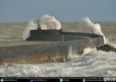 Stormy Seas at Newhaven