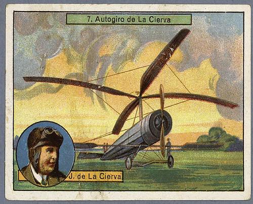 017-Autogiro de la Cierva-Aviones y aviadores-SF-Biblioteca Digital Hispania