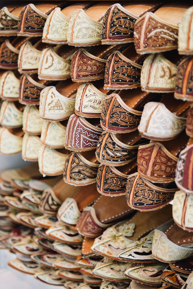 Dubai Spice Market - shoes
