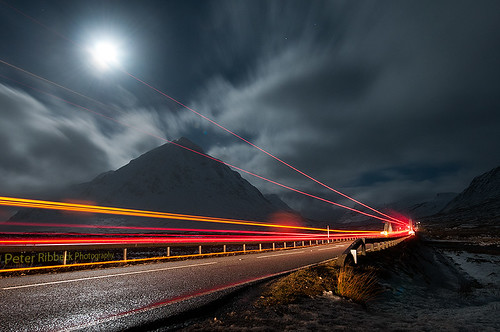 Glencoe light Trails