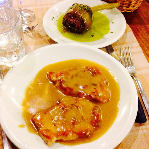 dove mangiare tipico a roma trastevere antica osteria