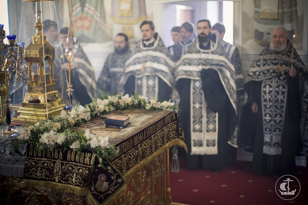 18 апреля 2014, Вынос Плащаницы / 18 April 2014, Vespers of the Taking-Down from the Cross
