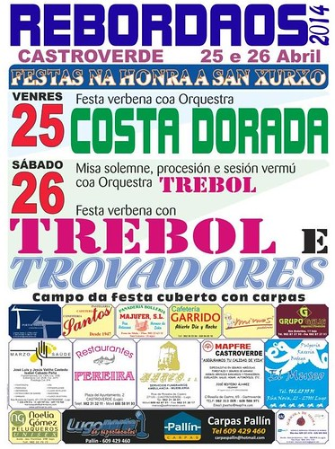 Castroverde 2014 - Festas de San Xurxo en Rebordaos