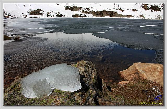 Lagunas de Neila (Burgos) heladas (8)
