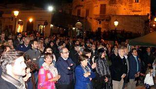 In prima fila Lanfranco Di Gioia, Antonicelli, Valentini e altri