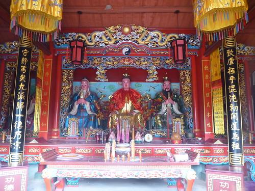 Jiangxi-Longhu Shan-2 Shangqing-temples taoistes (5)