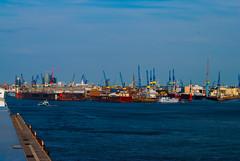 Shipyard Blohm + Voss, Hamburg, Germany - Werft Blohm + Voss, Hamburg