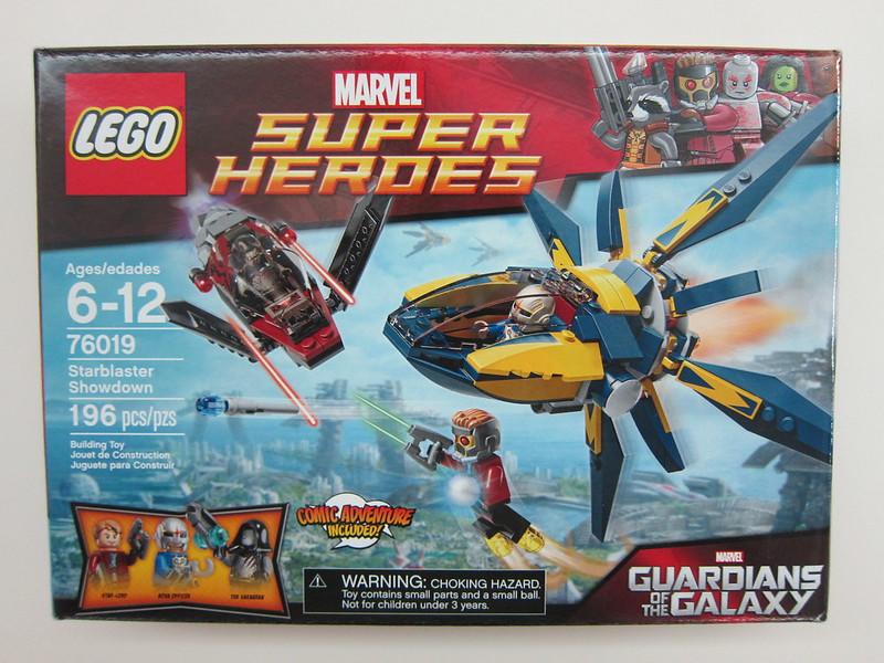 LEGO - 76019 - Super Heroes - Starblaster Showdown Building Set