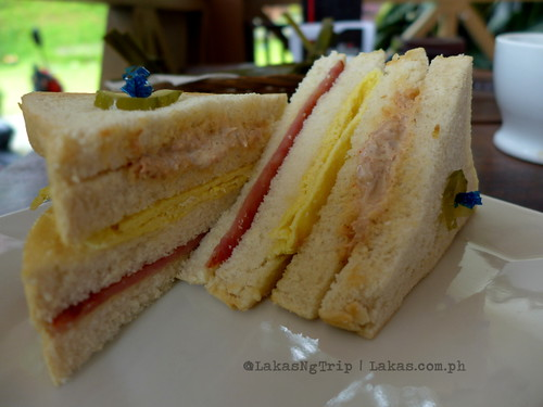 Clubhouse Sandwich at Seagull Coffee Shop at Lorega, Kitaotao, Bukidnon