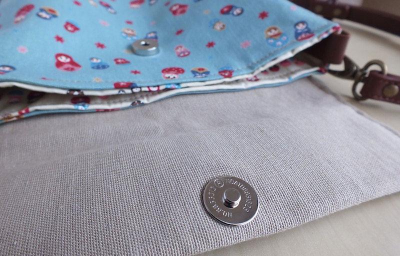 Blue matrioskas bag