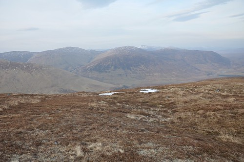 The Northern Carn Dearg's across Glen Turret from Beinn Iaruinn