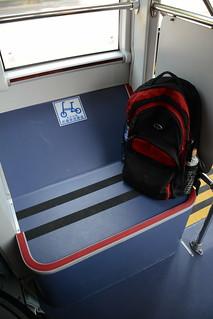 台中BRT車輛-自行車放置處