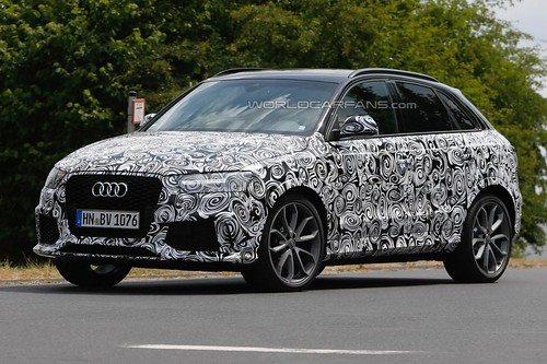 Spy Photo: 2015 Audi RS Q3 facelift