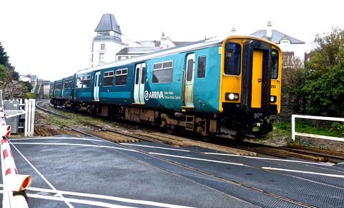 150253 'Arriva Trains Wales' on on Dennis Basford's 'railsroadsrunways.blogspot.co.uk'