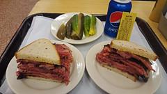 Pastrami Sandwiches at Katz's Delicatessen, L…