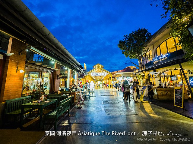 泰國 河濱夜市 Asiatique The Riverfront 88