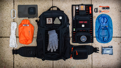 SHADO Hiking Loadout
