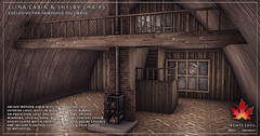 Trompe Loeil - Elina Cabin & Shelby Chairs for FaMESHed December