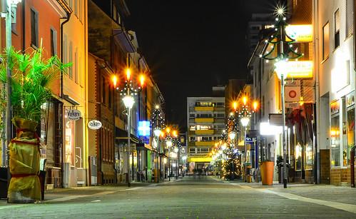 Fußgänger zone Neu-Isenburg