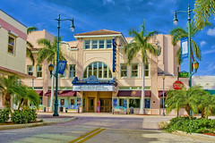 Sunrise Theater, 117 South 2nd Street, Fort Pierce, Florida, USA / Architects: John N. Sherwood, C.E. Cahow / Built: 1922 / Architectural Style: Mediterranean Revival