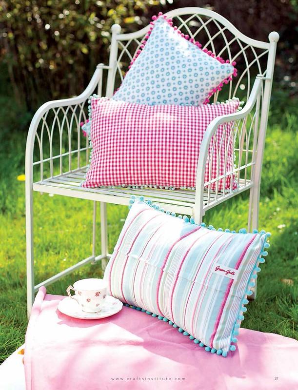 P37 Tea Towel Cushions