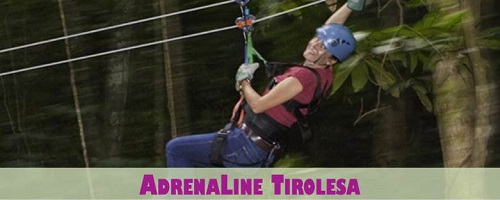 Adrena-Line Zip Line in Costa Rica