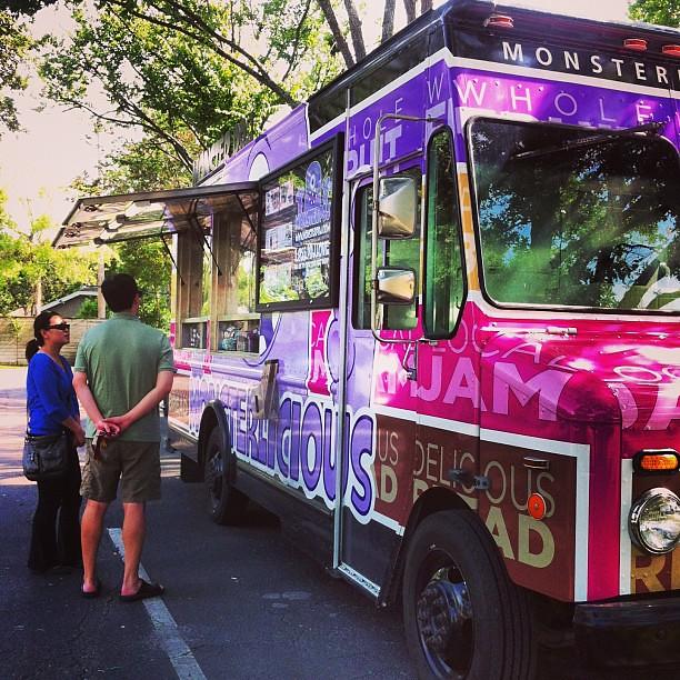 PB&J truck! It's snack time in Houston.