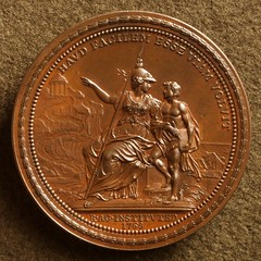 1768 Royal Academy medal by Thomas Pingo