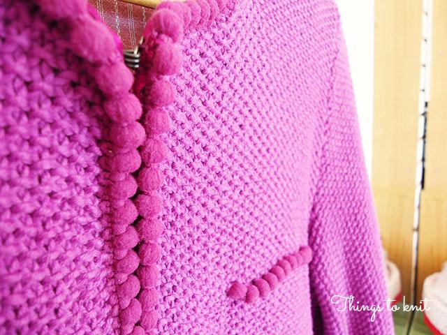 chaqueta de algodon lanas stop