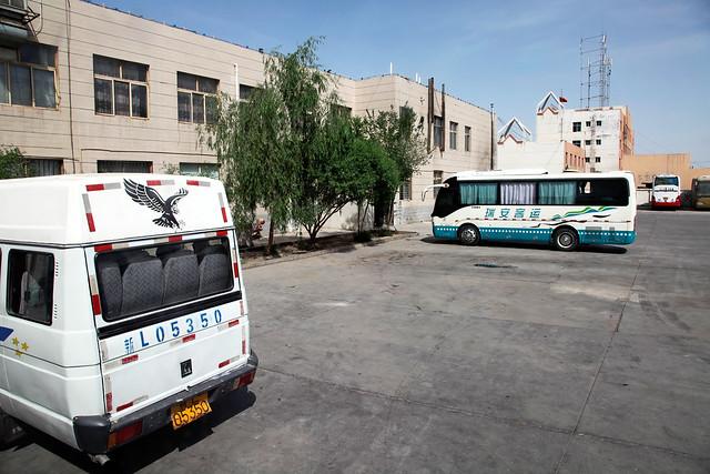 Kumul (Hami) bus terminal ハミのバスターミナル