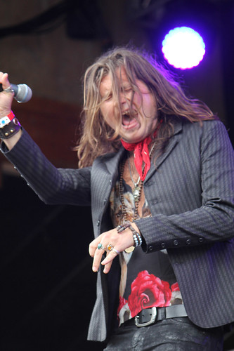 Rival Sons' Jay Buchanan hair