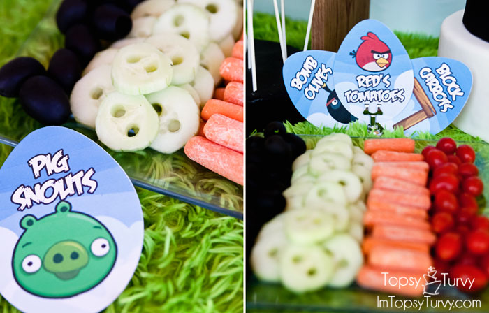 angry-birds-birthday-party-food-cucumber-snout