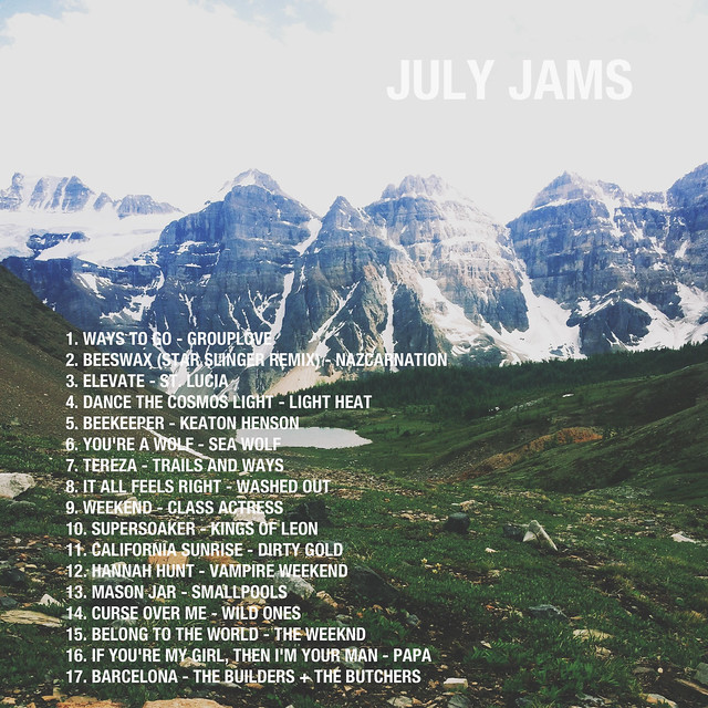 July Jams