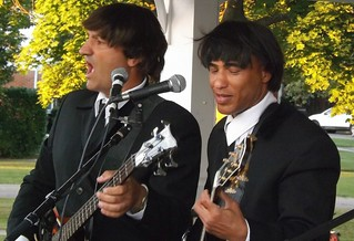 "Toppermost (Beatles Tribute Band): ""Paul"" and ""George"""