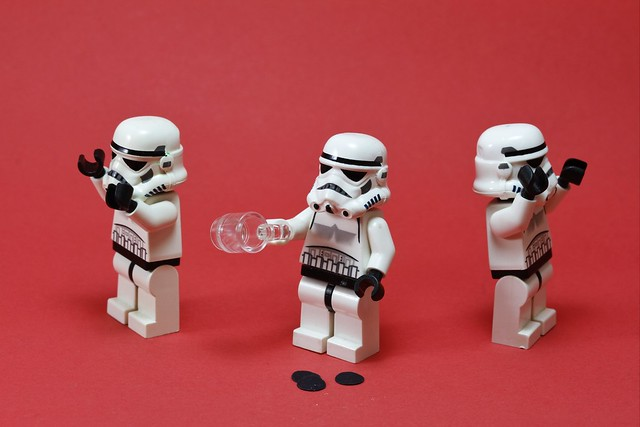 A Star Wars Lego a Day no. 82 Oh God!!! There's no more coffee!!!!!