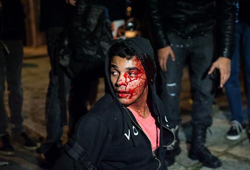Impresionantes imágenes de protesta en Brasil