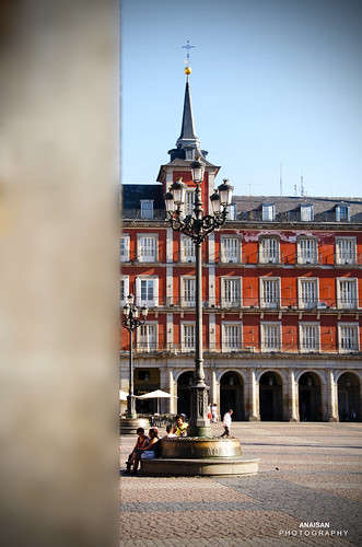 Plaza Mayor (Madrid) by ANAISAN PHOTOGRAPHY