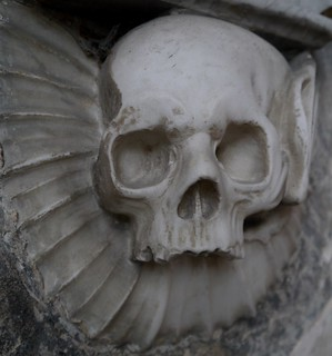 Wootton Wawen, St Peters, Tomb detail 1