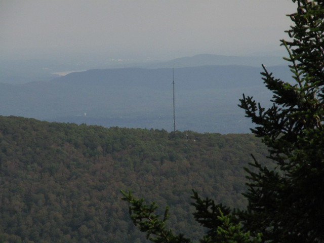 Overlook Mountain communications tower