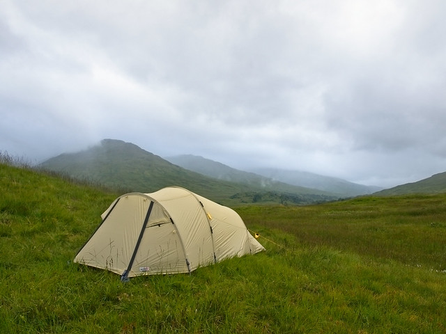 Wildzelten in Schottland
