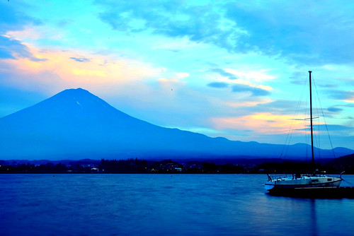 Mt. Fuji (Twilight)
