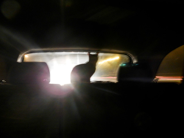 Header of in a car