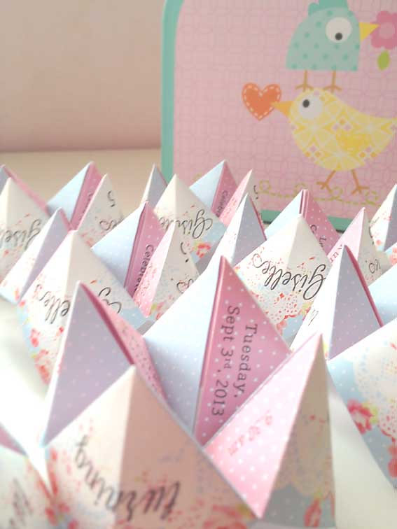 Babalisme Cootie Catcher Birthday Invitation